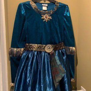 Disney Parks Merida Brave Deluxe Costume Dress XL